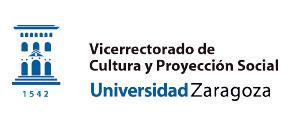 Logo Vicerrectorado de Cultura y Proyección Social. Universidad de Zaragoza